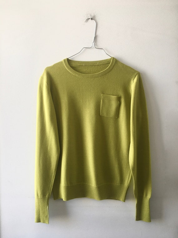 Lime Crewneck Jumper