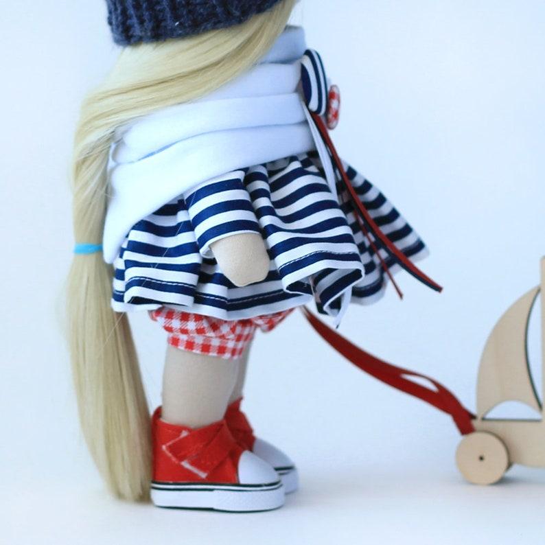 PDF pattern tutorial Sewing kit doll +Sewing Master Class Textile Soft Doll Puppe Mu\u00f1eca Home decor interior doll Digital download