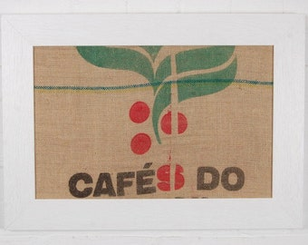 Pin Board Unique, One Off Coffee Sack Pinboard