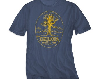 f18034574 Sequoia National Park Shirt - XS S M L XL Unisex - Camping Tee - King's  Canyon T-shirt - Vintage Style Graphic Tee