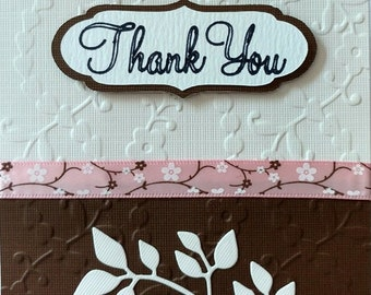 Set of 4 Occasional Greeting Cards, Congratulations, Thank You, Thinking of You, Happy Birthday