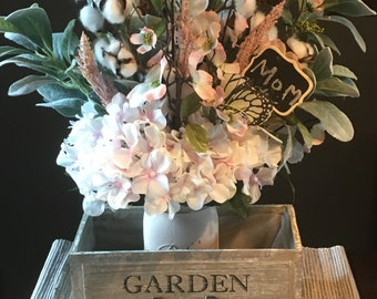 Mother's Day gift spring farm floral bouquet