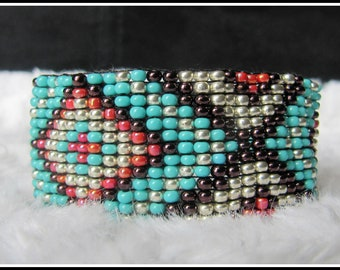 Indian hand woven bracelet