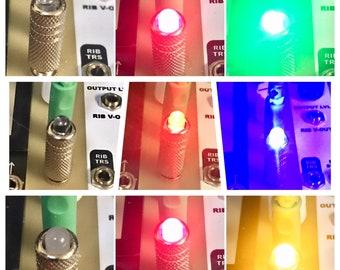 3.5mm Eurorack LED Modular Light Plug (5mm LED)