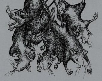 Rat King - Print