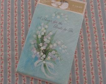 Vintage Hallmark Bridal Shower Invitations 8