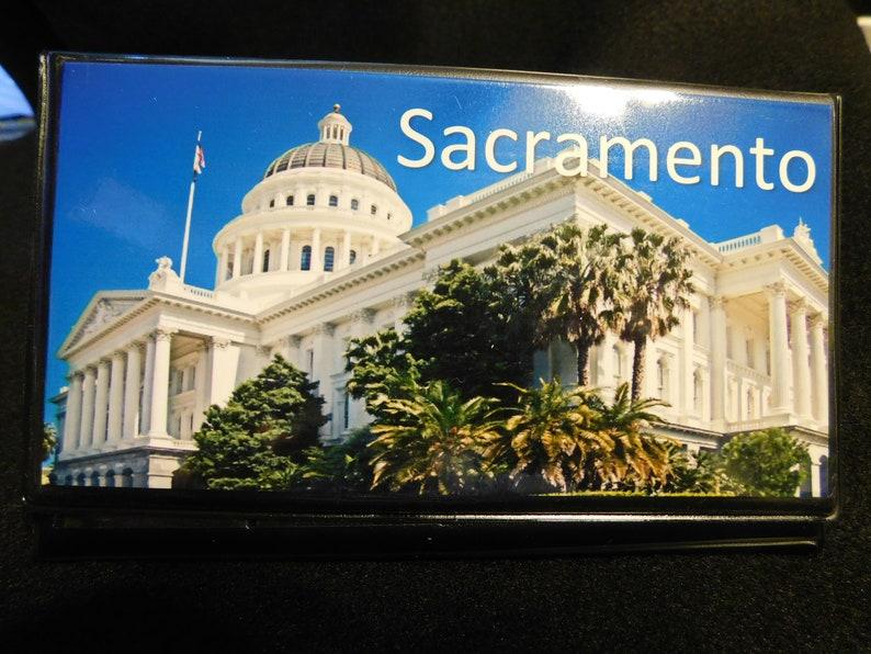 Elongated  Pressed Penny Souvenir Book  Album Sacramento