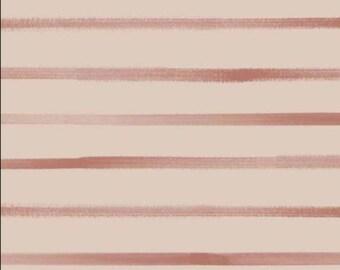 NOW IN STOCK!! Stripes Mango - Jersey Knit Fabric - Family Fabrics Design