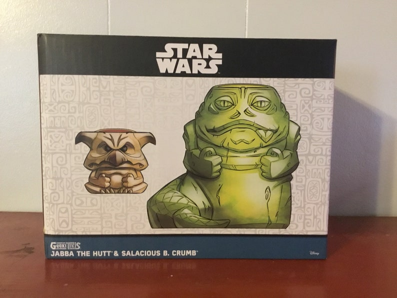 Rare Star Wars Jabba the Hut Tiki Mug