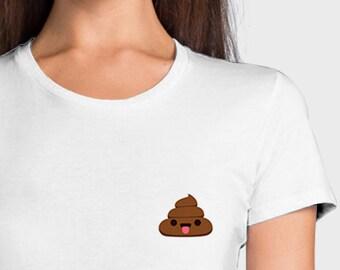 Kawaii poop poo - T-shirt 1W075
