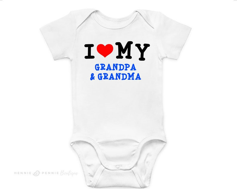 Funny Mummy//Daddy//Grandma//Grampa Baby Grow Gift Newborn For Parents//Grandparents