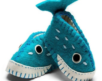 Baby Bootie, Whale Baby Zootie, Infant Shoes