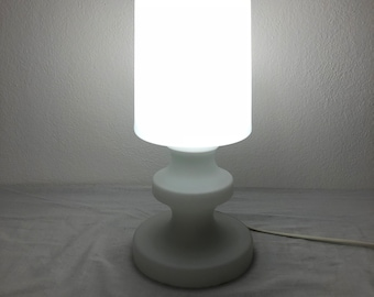 White glass lamp by Ivan Jakeš