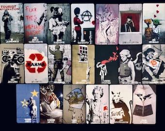 THE TAROT BANKSY, (2nd ed): a street art tarot deck