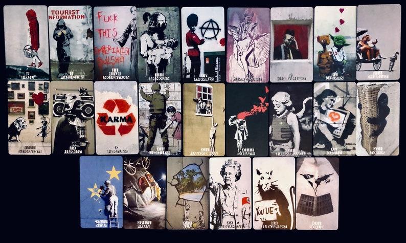 THE TAROT BANKSY a street art Tarot deck image 0