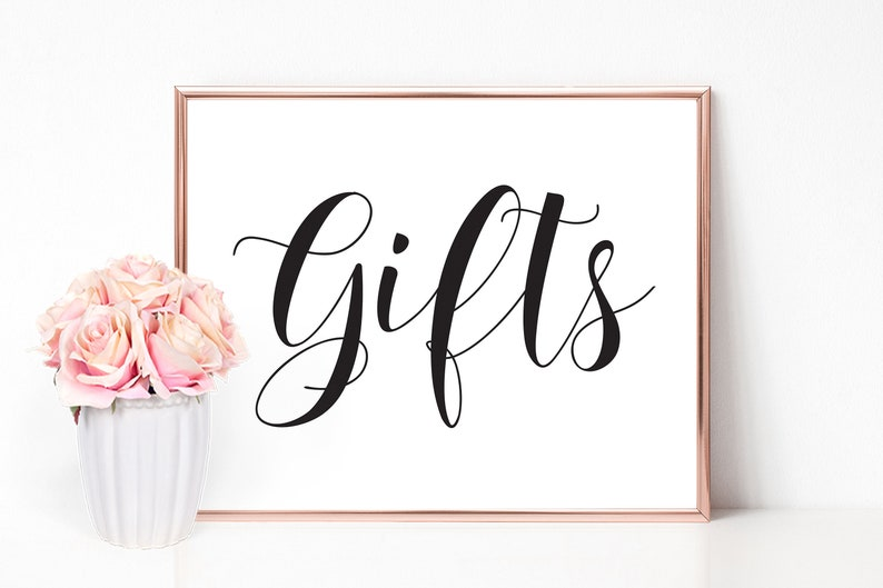 Gifts Sign Cards and Gifts Sign Reception Sign Gift Table Sign Wedding Gift Table Wedding Sign Wedding Gift Sign Cards and Gifts