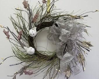 Birds Birch Twig Wreath