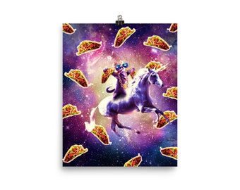 Personalizzata Unicorno Color cosmica Full Color Sublimazione T Shirt