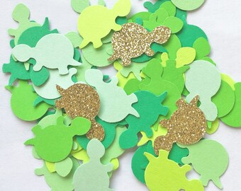 Turtle Cut Outs Sea Turtle Confetti Turtle Decorations Table Scatter Ocean Party Supplies Ocean Theme Sea Turtle Cut Out Beach Party Supplies