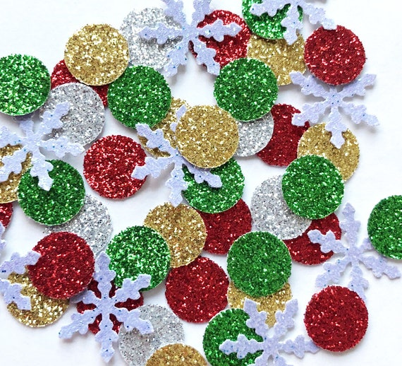 Bright Ideas SPARKLES GOLD SNOWFLAKES Approx 100 Ideal For CHRISTMAS Tables Card