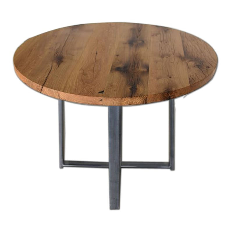 Round Dining Table   Reclaimed Wood Kitchen Table   Antique Desk  Reclaimed  Wood Desk   Solid Wood Table   Study Table   Restaurant Table