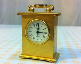 Antique Tiny Clock, Vintage Clock, Antique Home Decor, Vintage Quartz  Clock, Antique Miniature Clock, Vintage Home Decor, Antique Home Decor