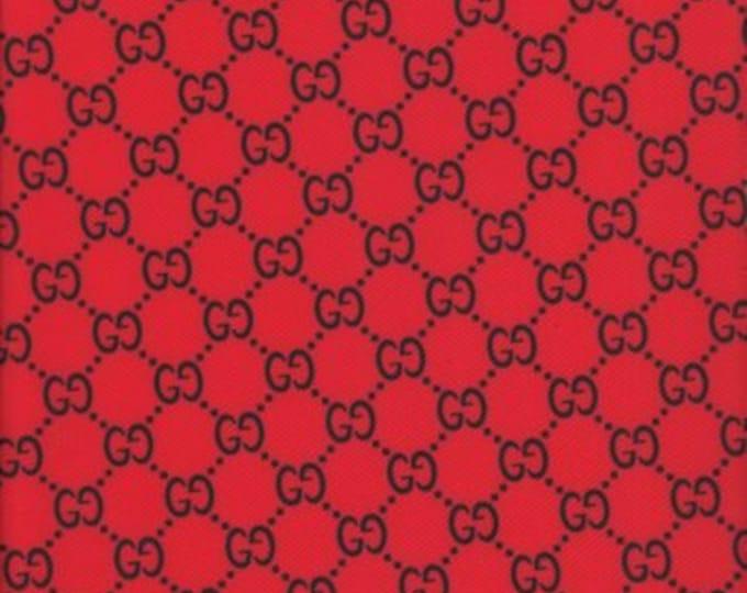 86a6b1b43ebf GU-209 Designer inspired Red Black original Multi-color Fabric sewing craft spandex  Lycra