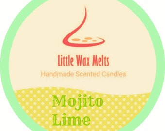 Handmade Mojito Lime Scent Soy Scoopable 60g