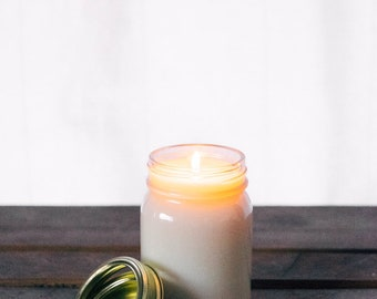 Hand-Poured Organic Soy Wax Candle