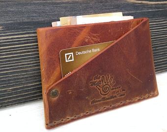 Minimalist Wallet * Card Holder * Money Wallet * Leather Wallet * Slim Wallet * Men's Wallet * Card Wallet * Travel Wallet , Card Case
