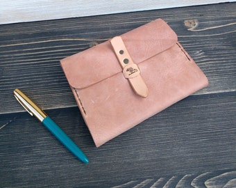 Leather Cover * Book Cover * Notebook Cover * Journal Cover * Leather Case* Leather Notebook * Minimalist Cover * Travel Pouch,Leather Pouch