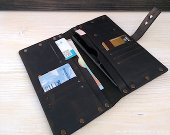 Documents Wallet * Men's Wallet * Travel Belt Wallet * Credit Card Wallet * Phone Cover * Minimalist Wallet* Business Card Holder, ID Wallet