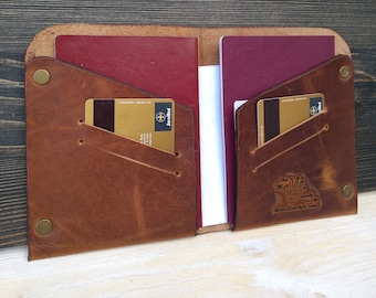 Passport Holder * Travel Document * Leather Cover * Travel Wallet * Passport Cover * Documents Wallet * Passport Case , Leather Wallet