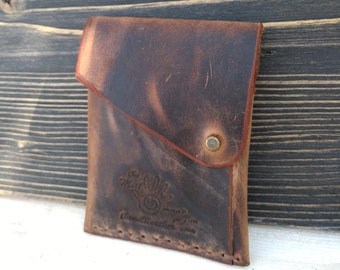 Leather Slim Wallet * Minimalist Wallet * Card Wallet * Credit Card Holder * Travel Wallet * Men Leather Wallet * Document Wallet, ID Wallet