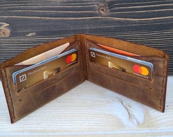 Leather Slim Wallet * Men's Leather Wallet * Card Holder * Card Case * Leather Card Wallet * Minimalist Wallet * Money Wallet , ID Wallet