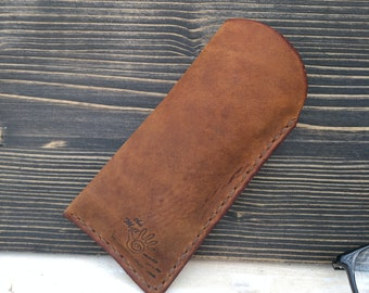 Glasses Pouch * Glasses Case * Leather Pouch * Leather Case * Travel Pouch * Glasses Accessories * Glasses Holder , Case For Glasses