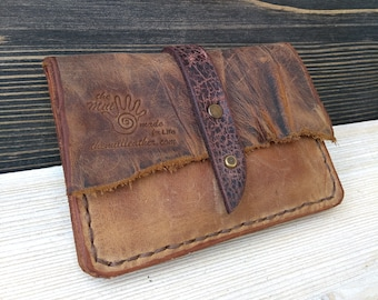 Leather Slim Wallet * Leather Wallet * Belt Wallet * Credit Card Holder * Travel Wallet * Minimalist Wallet * Mini Wallet , Women's Wallet