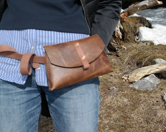 Waist Bag * Travel Belt Bag * Leather Fanny Pack * Travel Bag * Women Waist Pack * Fashion Bag * Festival Bag * Leather Fanny Bag , Bum Bag