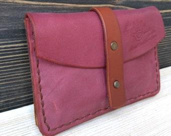 Travel Belt Wallet * Leather Wallet * Credit Card Holder * ID Wallet * Slim Wallet * Minimalist Wallet * Men's Wallet , Coin Wallet