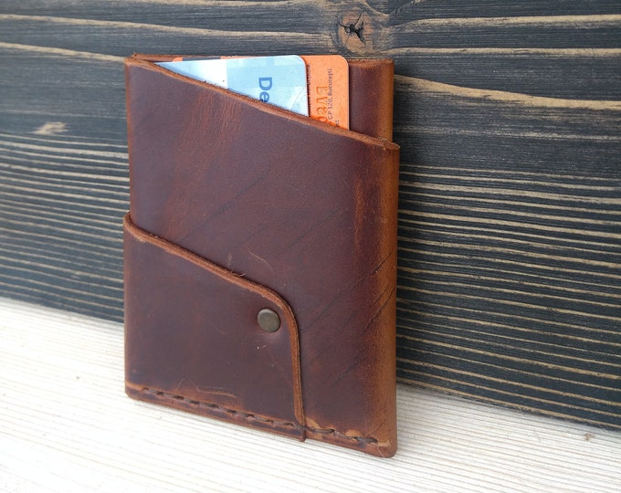 Featured listing image: Minimalist Wallet * Card Holder * Leather Wallet * Money Wallet * Slim Wallet * Men's Wallet * Card Wallet * Travel Wallet , Card Case