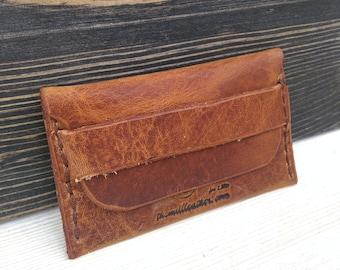 Leather Slim Wallet * Business Card Holder * Leather Card Wallet * Leather Wallet * Men's Wallet * Card Case * Minimalist Wallet, ID Wallet