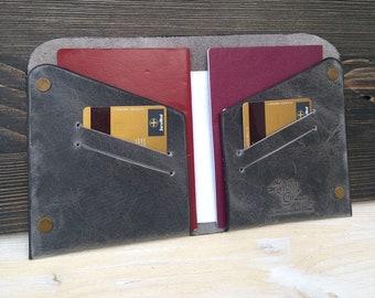 Leather Passport Holder * Passport Cover * Travel Wallet * Passport Wallet * Passport Case * Leather Holder * Leather Wallet , ID Wallet