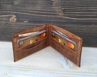 Slim Wallet * Men's Wallet * Card Holder * Minimalist Wallet * Leather Wallet * Card Case * Leather Card Wallet * Money Wallet , ID Wallet