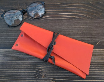 Glasses Case * Leather Pouch * Travel Pouch * Leather Case * Glasses Pouch * Glasses Accessory * Glasses Holder , Glasses Box