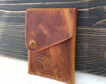 Business Card Holder * Leather Wallet * Minimalist Wallet * Card Wallet * ID Wallet * Card Case * Travel Wallet * Folded Wallet ,Slim Wallet