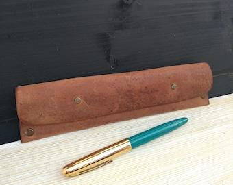 Leather Pen Case * Pen Maker * Pencil Holder * Pencil Case * Pen Holder * Pencil Pouch * Pencil Bag * Leather Pouch , Leather Case