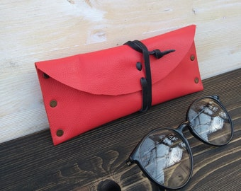 Sunglasses Case * Glasses Pouch * Case for Glasses * Leather Pouch * Travel Pouch * Glasses Accessory * Glasses Holder , Glasses Box
