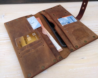 Women Leather Wallet * Belt Wallet * Travel Wallet * Phone Cover * Money Wallet * Credit Card Wallet * Minimalist Wallet , Clutch Wallet