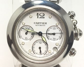 Men's Automatic Stainless Steel Cartier Watch
