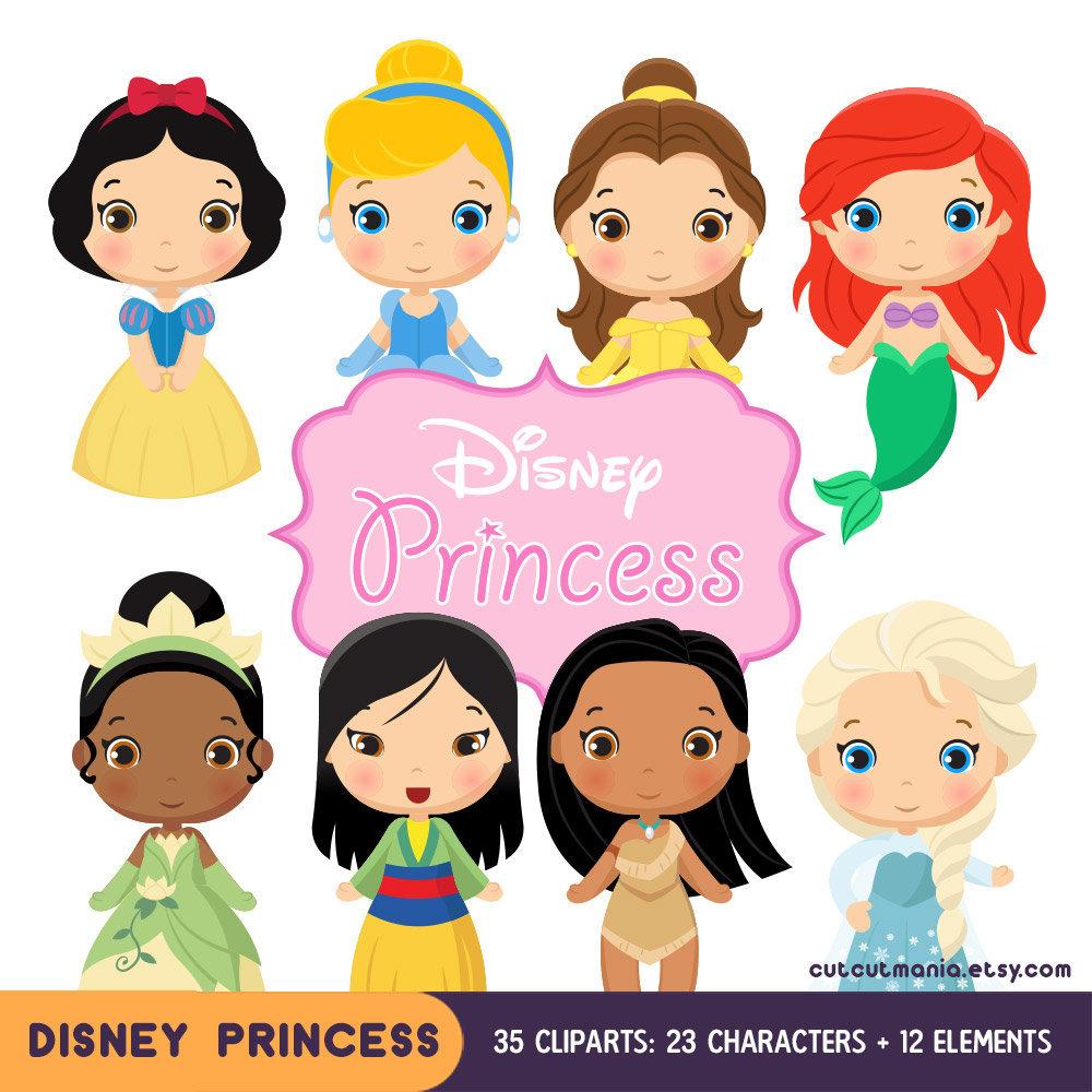 Disney Princess Clipart Cute princess Clip art Disney ...
